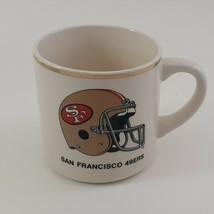 1988 49ers SUPER BOWL XXIII CHAMPIONS COMMEMORATIVE SF Ceramic Mug With Schedule image 1