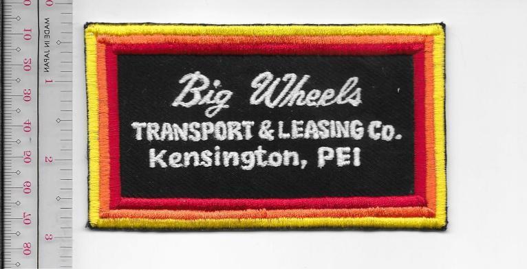 Vintage trucking   van lines canada big wheels transport   leasing co kensington  pei 9.99