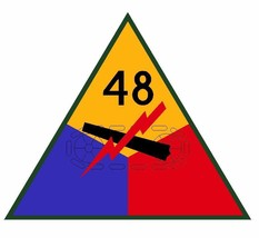 48th Armored Division Sticker Military Decal M374 - $1.45+
