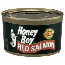 (3 Pack) Honey Boy Red Salmon, 7.5 Oz Can - $20.27