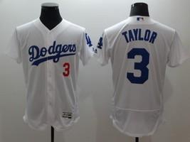 New Los Angeles Dodgers #3 Chris Taylor Jersey Flexbase Baseball White N... - $42.00