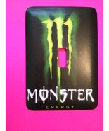 Monster Energy Metal Light Switch Plate Cover pop culture - $9.50