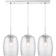 Realm 3-Light Linear Chandelier in Polished Chrome - $479.99