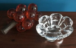 Vintage Orrefors Sweden Crystal Dish Candy Bowl Mid Century Home Decor E... - $57.98