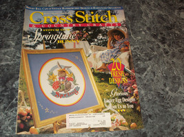 Cross Stitch & Country Craft Magazine March/April 1994 Easter Egg Designs - $0.99