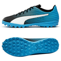 Puma Rapido II TT Football Shoes Soccer Cleats Boots Blue 10606202 - $49.99
