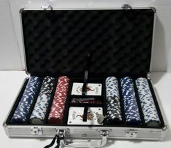 *NEW*  Willco 300 Pieces Poker Chip set in an Aluminum carrying Case  image 2