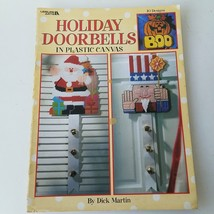 Holiday Doorbells In Plastic Canvas - 10 Designs #1849 by Dick Martin - $11.39