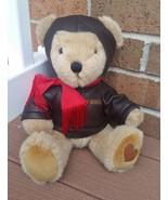 Aramis Pilot Aviator Brown Teddy Bear Plush. - $25.00
