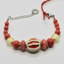 Bracelet Antica Murrina Venezia with Murano Glass Red Coral BR742A25 image 2
