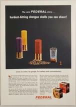 1966 Print Ad Federal Shotgun Shells Color Coded by Gauge Minneapolis,Minnesota - $14.83