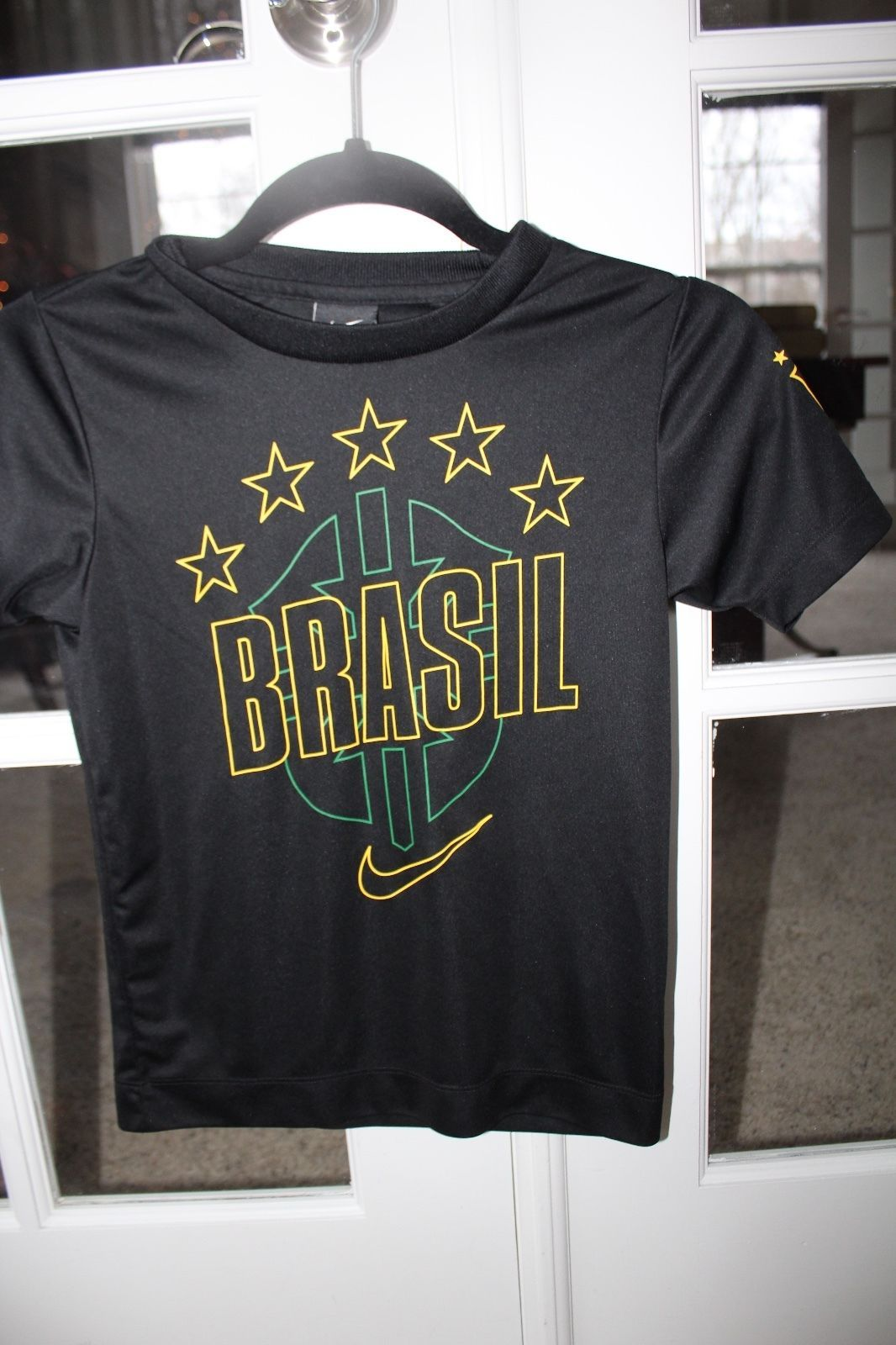 Nike Boys Size Small Black Brasil Soccer and 50 similar items 8f0c3c3d8