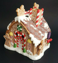 Gingerbread House Tealight Candle Holiday Village Christmas PartyLite P7... - $19.75