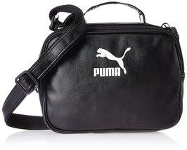 Puma Synthetic 16 cms Puma Black-Puma White Messenger Bag (7516201) - $72.99