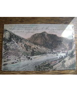 Vintage Post Card 1933 Gunnison Tunnel Black Canyon Montrose Colo Willia... - $4.99