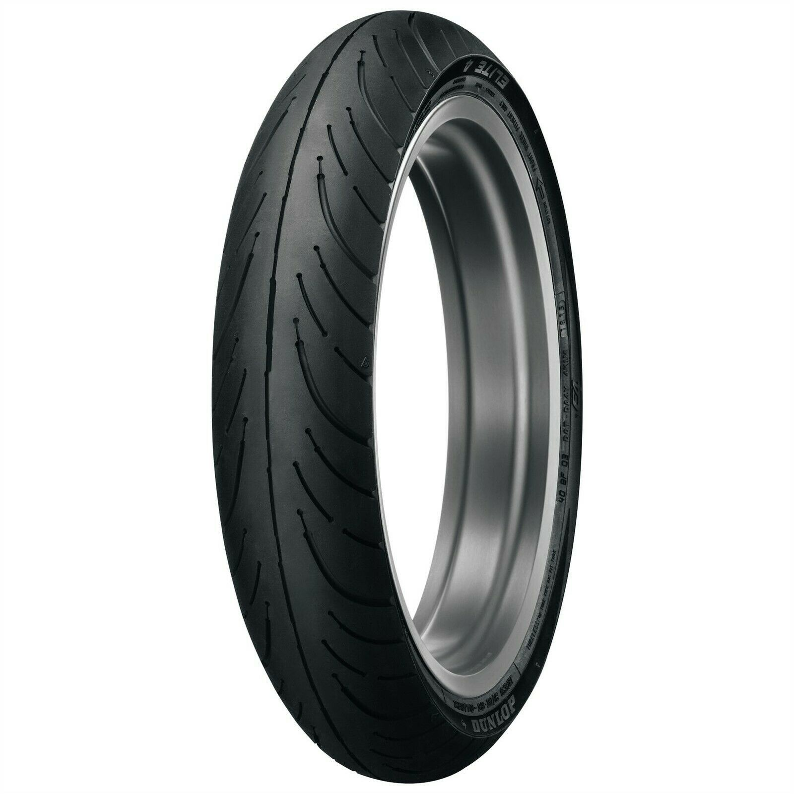 New Dunlop Elite 4 100/90-19 Bias Front Motorcycle Tire 57H High Mileage