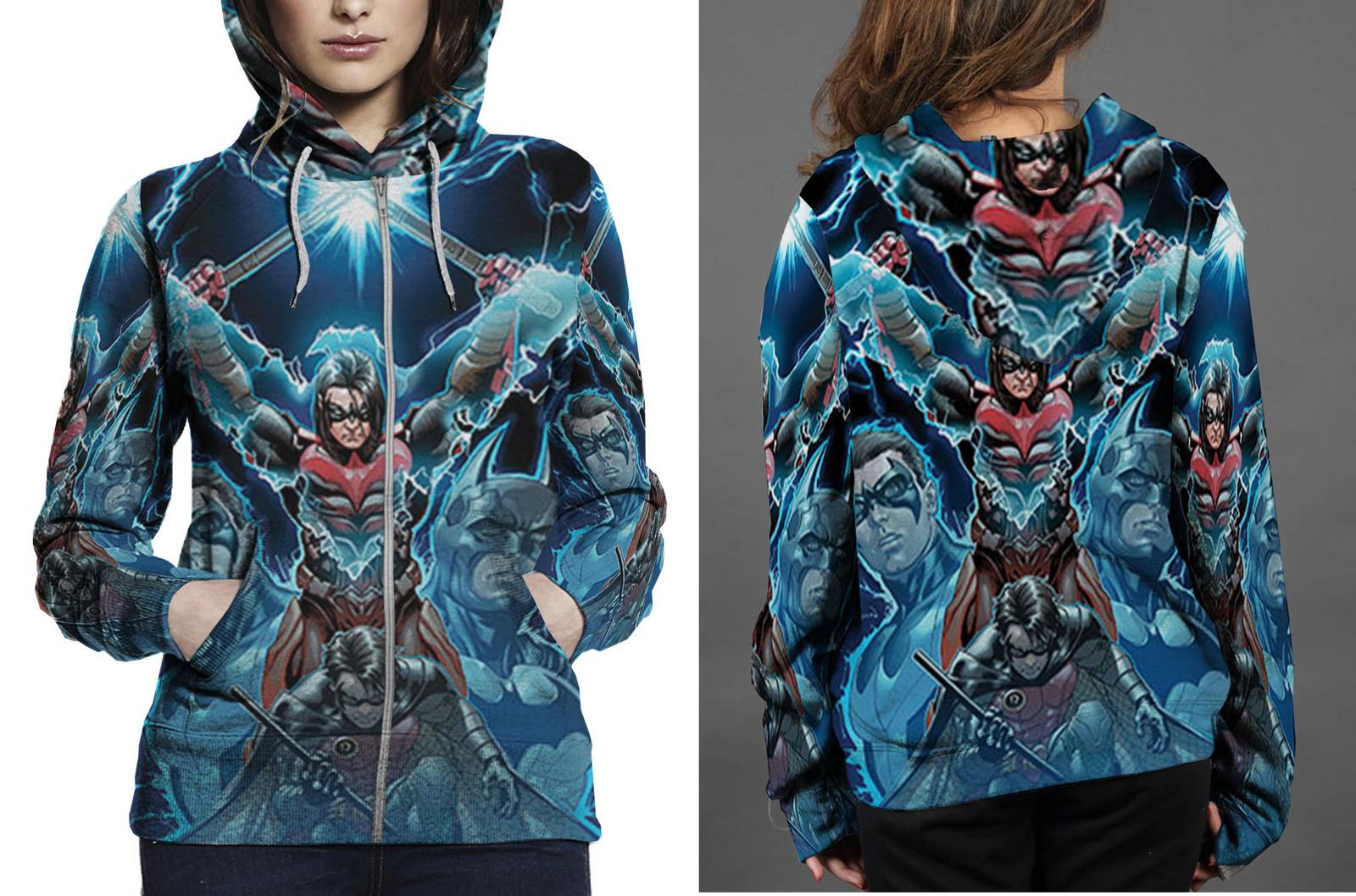 Injustice gods among zipper hoodie women s
