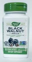 Nature's Way Black Walnut Hulls 1000 mg 100 capsules each 4/2026 FRESH! - $11.99