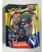 Heroes of Goo Jit Zu Marvel, Action Figure – Super Stretchy - Captain Am... - $16.14