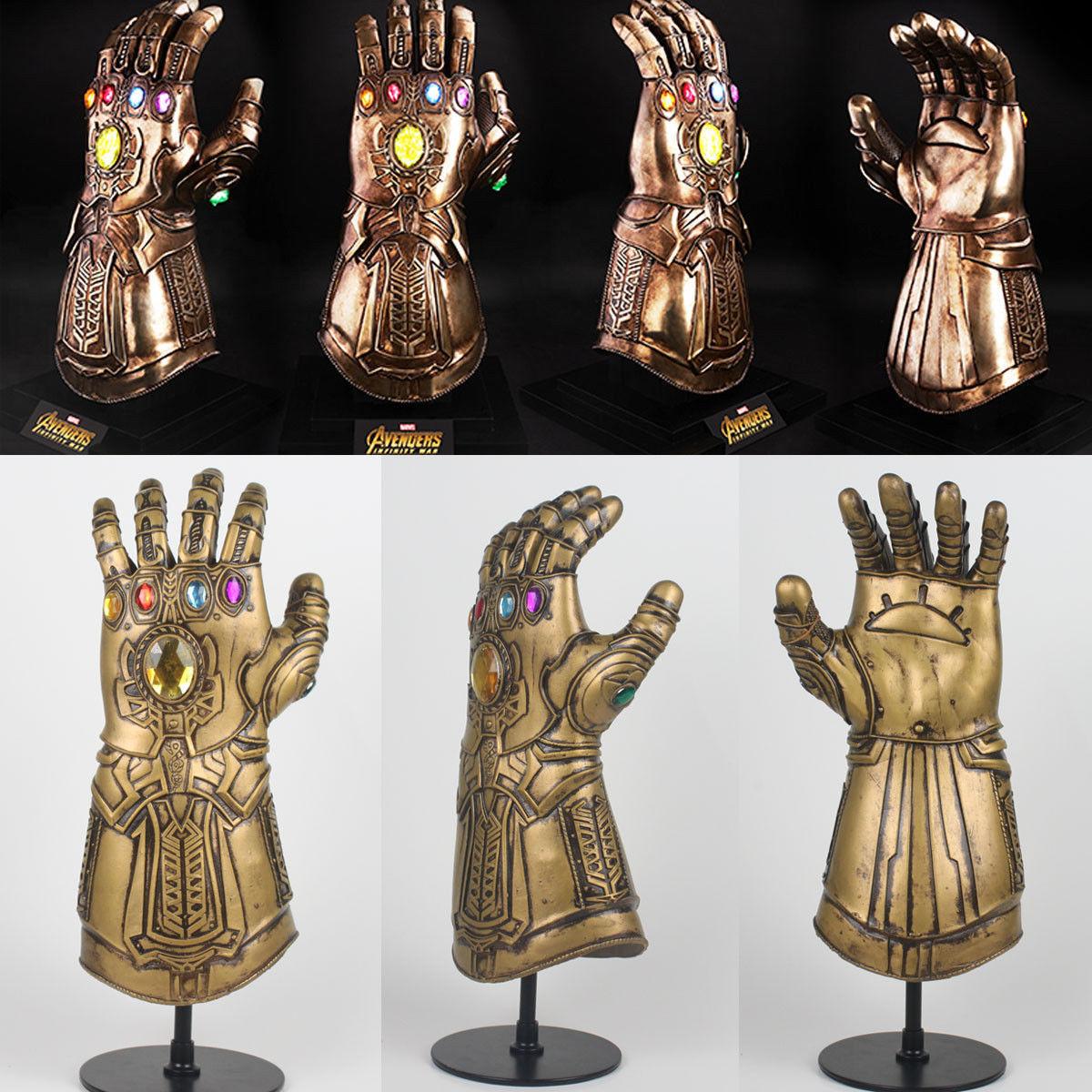 Thanos Infinity Gauntlet Glove Cosplay 2018 Infinity War The Avengers Prop - $36.79