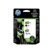 HP 60XL/60 Black/Color Ink Cartridges, Standard, 2/Pack,N9H59FN - $59.99