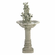 Angelic Trio Playful Cherubs Fountain Includes Corded Electric Pump - $237.55