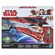SW Star Wars Force Link 2.0 Resistance A-Wing Fighter Vehicle with Resis... - $49.49