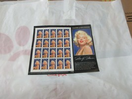 Marilyn Monroe , Legends of Hollywood , Stamps , USPS ,1995 , Sheet of 2... - $10.00
