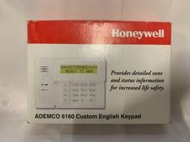 Honeywell Ademco 6160 Custom English Keypad NEC - $75.00