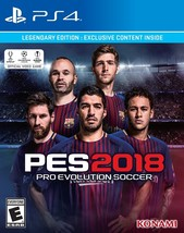 Pro Evolution Soccer 2018: Legendary Edition - Playstation 4 Disc - $57.54