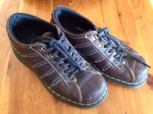 Primary image for Doc Martens Men's 7 Women's 8 9764 Brown Leather 2000's DM's Shoes