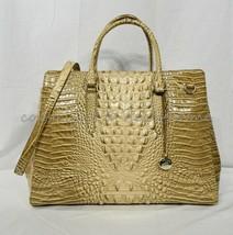 Brahmin Finley Carryall XL Satchel/Shoulder Bag/Work Bag in Honeycomb Melbourne - $369.00