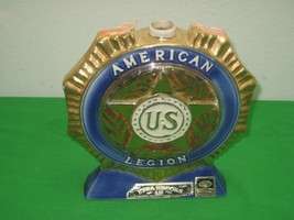 Vintage 1971 American US Legion Ezra Brooks Decanter Bottle 53rd Nationa... - $16.79