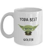 Black Friday Gift Golfer Mug Yoda Best Golfer Gift for Men Women Coffee ... - £10.84 GBP