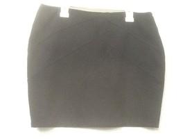 Black Knit Short Pencil Skirt Forever 21 Essentials Size L Large - $9.95