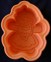 Kitchen Aid Silicone Doll Mold Baking Jello Crafts Small Flexible Tradit... - $9.99