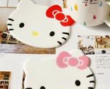 2pcs Cute Hello Kitty Silicone Nonslip Cup Mat Pad Insulation Coaster Free Ship