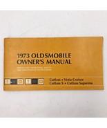 1973 Oldsmobile Cutlass S Supreme Vista Original Owners Manual Guide Boo... - $19.95