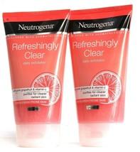 2 Neutrogena Refreshingly Clear Daily Exfoliator Purifies Blemish Prone ... - $26.99