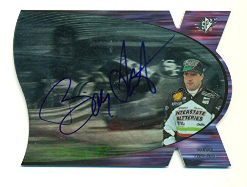 1997 SPx Bobby Labonte On Card Autograph AUTO SP NASCAR Auto Racing #SV9