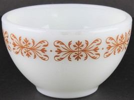Vintage Pyrex Copper Filigree Tableware by Corning Mugs, Pyrex Milk Glas... - $99.00