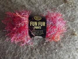Lion Brand Fun Fur 1 skein Confetti color 40 grams 6 available - $1.93