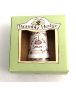 Royal Doulton Brambly Hedge Thimbles Spring 1994 Porcelain New in Box - $25.00