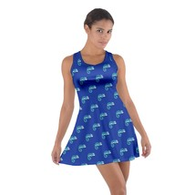 Women's Chameleons Printed Casual Cotton Sleeveless Racerback Dress Size XS-3XL - $24.99+