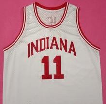 Isiah Thomas Indiana Hoosiers White College Jersey Any Size Free Wwjd Bracelet - $29.99