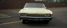 1968 Impala Butternut Yellow front Poster 24x36 inch   wall decor - $18.99
