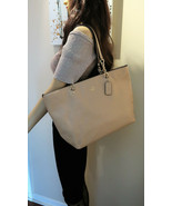 Coach Pebble Leather Sophia Tote Bag 36600 - $272.25