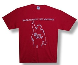 Rage Against The Machine-Battle of Chicago-X-Large Red T-shirt - $24.99