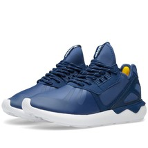 Adidas Originals Tubular Runner Men's Trainers Navy Men's Shoes S81507 - $82.58