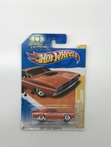 Hot Wheels 2011 New Models Green Lantern '71 Dodge Challenger Orange - $7.00